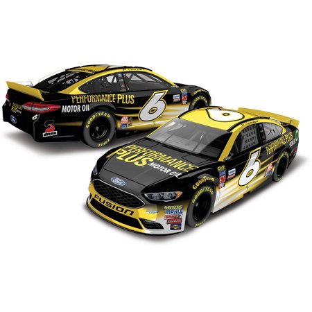 Lionel Racing Trevor Bayne #6 Performance Plus 2017 Ford Fusion 1:64th Scale Hard-Top Official Diecast of the NASCAR Cup Series