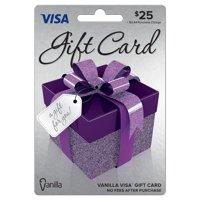Vanilla Visa Gift Box $25 Gift Card