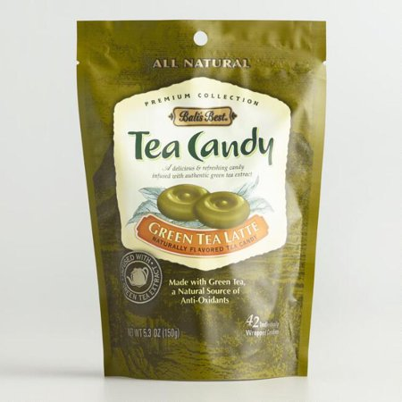 Bali's Green Tea Latte Hard Candy (Pack of 1)