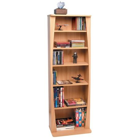 (Atlantic Canoe Multimedia Bookcase for 231 CDs Or 115 DVDs)