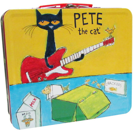 Pete The Cat Retro Tin Lunch Box