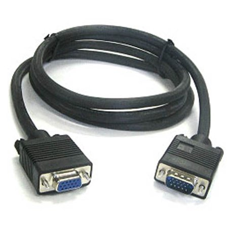Db15 M/f Mac Monitor Extension (6 Ft SVGA VGA Monitor Extension Cable M/F - Male to Female Video PC 6 Foot NEW )