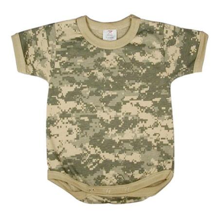 ACU Baby Boy or Girl One-piece Infant Bodysuit, Snap-tee - One Piece Onesie