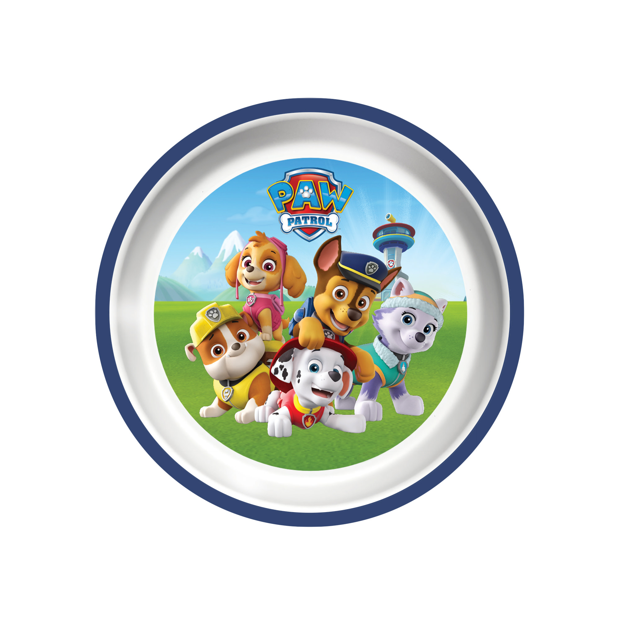 Playtex Mealtime Paw Patrol Boys' Plate - 1 Pack