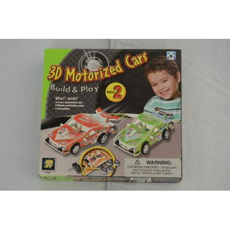 3D Motorized Cars Build & Play - image 1 de 1