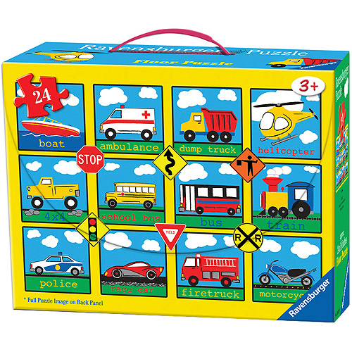 Ravensburger Vehicles Puzzle In Suitcase