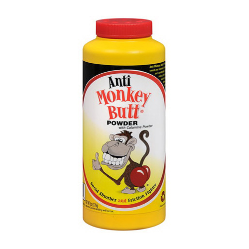 Anti Monkey Butt Anti Friction Powder With Calamine, 6 oz