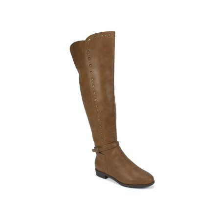 Rialto Womens Ferrell Leather Almond Toe Knee High - image 1 de 2