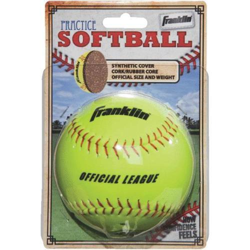 Franklin Sports 10981 Softball-SYNTHETIC SOFTBALL by Franklin Sports