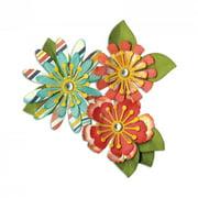 Sizzix Thinlits Die Set 10PK Mix & Match Flowers by Lori Whitlock