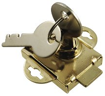 1-Inch Prime-Line Products S 4054 Mail Box Lock Brass