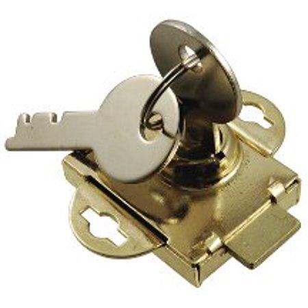 Brass Mailbox Lock 97-19, 1/2