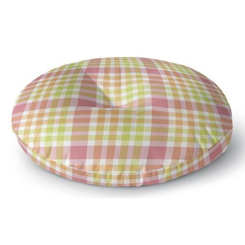 Darby Home Co Mollien Plaid Indoor/Outdoor Floor Pillow