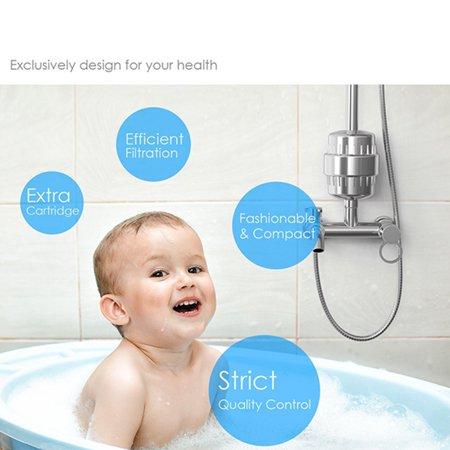 10-15 Layer Filter Set Sprinkler Shower Water Filter Chlorine Removal Filter for Bathroom Supplies - image 7 of 8