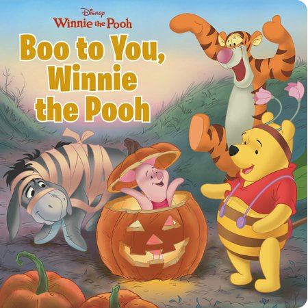 Halloween Ideas For Groups Of Four (Boo to You, Winnie the Pooh)