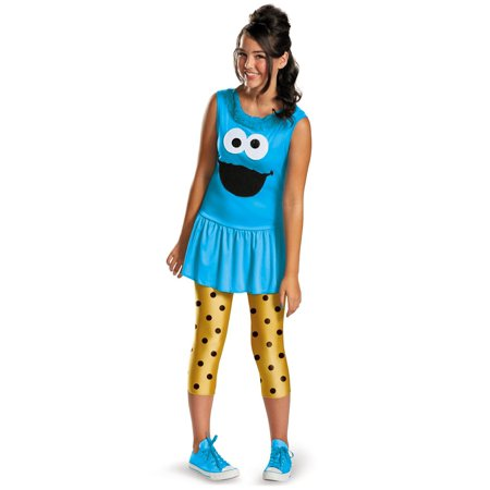 Sesame Street Cookie Monster Tween Costume (Sesame Street Big Bird Halloween Costume)