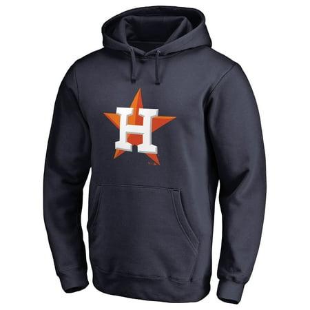 Team Logo Pullover (Houston Astros Team Color Primary Logo Pullover Hoodie - Navy)