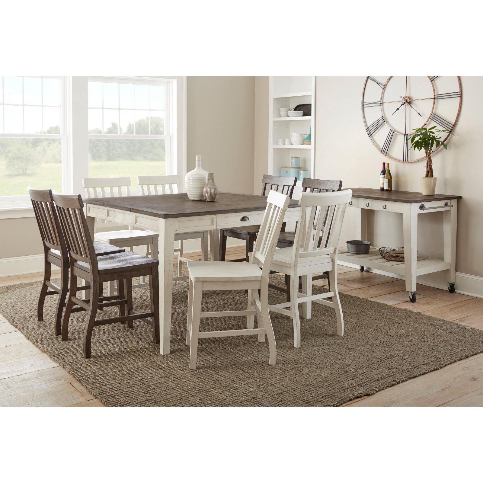 Steve Silver Co. Cayla Counter Height Table with Drawer
