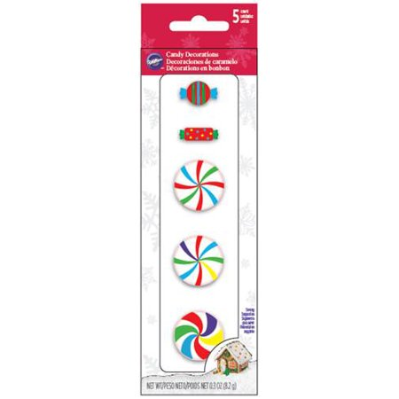 Colorful Candy (Royal Icing Decorations 5/Pkg-Gingerbread Colorful)