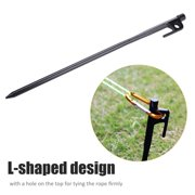 Fosa ShineTrip Heavy Duty Steel Camping Awning Canopy Tent Peg Stake Nail Accessory,Tent Peg, Steel Tent Peg