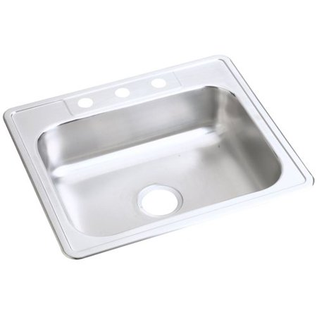 Elkay Dayton 25'' L x 22'' W Drop-In Kitchen Sink