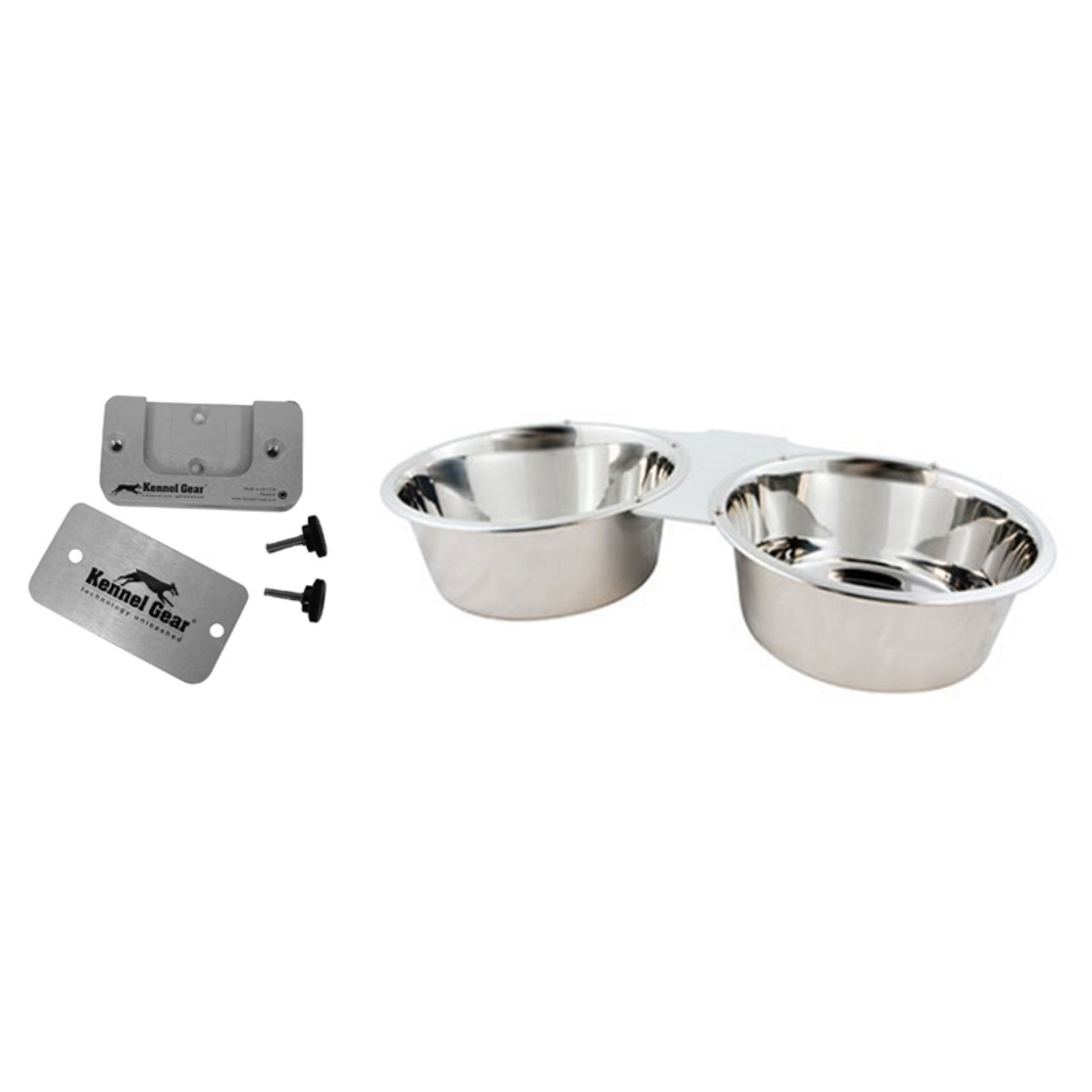 Kennel Gear Double Bowl System