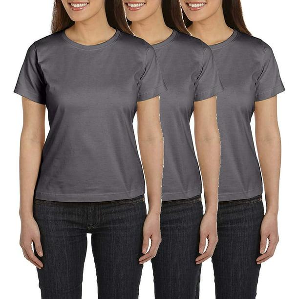 AquaGuard Womens Premium Jersey T-Shirt-3 Pack