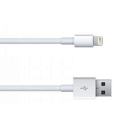 Kentek 6 Feet Ft Mfi Certified Lightning 8 Pin To Usb Type A Male To Male M M Charge Sync Cable Cord Adapter For Apple Ipod Iphone Ipad White