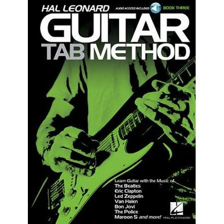 Hal Leonard Guitar Tab Method - Book 3 (Tab Guitar Method Book)