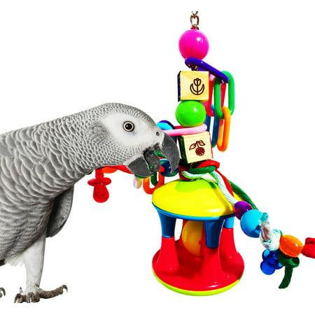 Bonka Bird Toys 1119 Cage Ball Bird Toy.