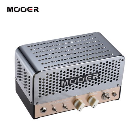MOOER LITTLE MONSTER AC Mini 5W All-tube Guitar Amp Amplifier Head ECC83(12AX7) EL84(6BQ5) for 8Ω/ 16Ω Speaker with Carry Bag