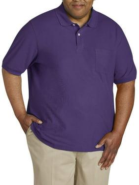 5a0638aee Men s Big and Tall Polo Shirts - Walmart.com - Walmart.com