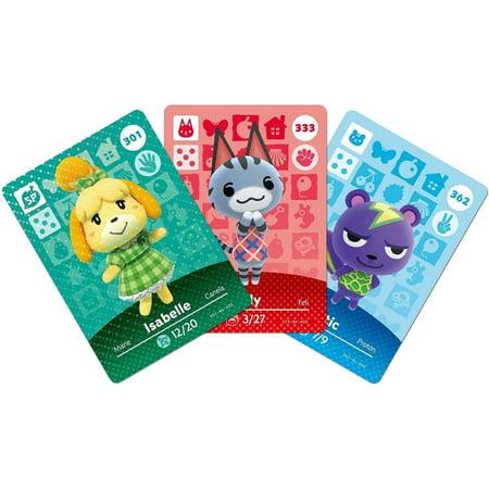 Animal Crossing amiibo Card Pack: Series 3 (Single Pack)