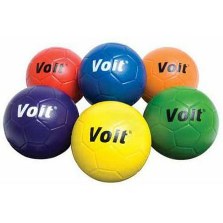 Voit Soccer Ball, Size 4, Blue](Soccer Ball Decorations)