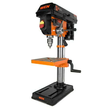 WEN 10-Inch Drill Press with Laser, - Safety Drill Press