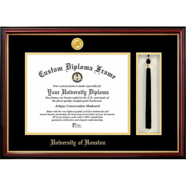 Campus Images University Of Houston 11 X 14 Tassel Box And Diploma Frame Walmart Com Walmart Com