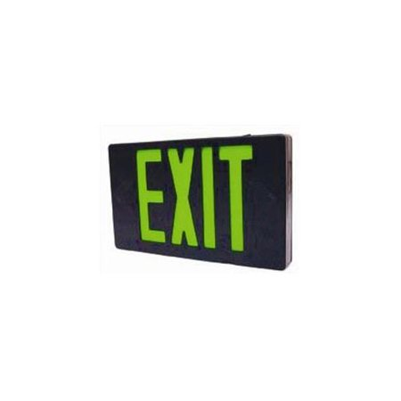 Westgate LED Exit Sign Emergency Light - Lighting Emergency LED Light With Battery Backup - For Residential & Commercial (Green) Combo Led Exit Emergency Light