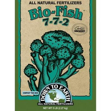 Image of Down To Earth Bio-Fish Fertilizer, 5 lb.