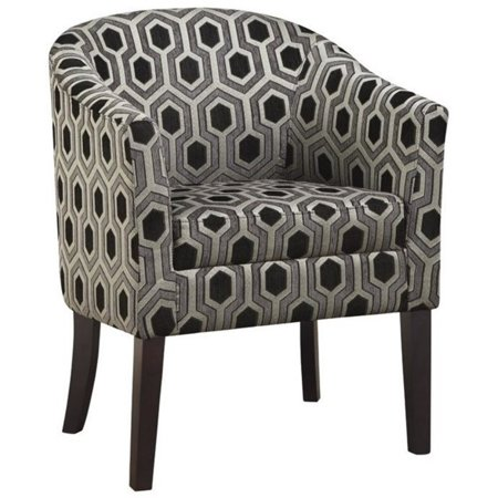 Cool Pemberly Row Accent Arm Chair In Chenille Geometric Print Gmtry Best Dining Table And Chair Ideas Images Gmtryco
