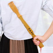 17.5 inch Bamboo-yourself scratchers scratching stick,Long Bamboo Back Scratcher Ask For Help Scratchers Tickle Freely