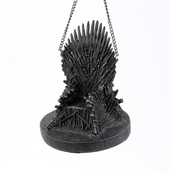 Kurt Adler Game of Thrones? Iron Throne Christmas Ornament