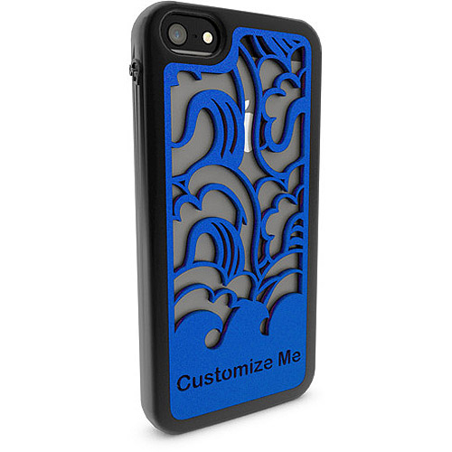 Apple iPhone 5 and 5s 3D Printed Custom Phone Case -  Waves Design