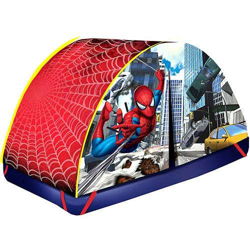 Customer Reviews. Spiderman-marvel Marvel Spiderman Bed Tent  sc 1 st  Walmart.com & Spiderman-marvel Marvel Spiderman Bed Tent - Walmart.com