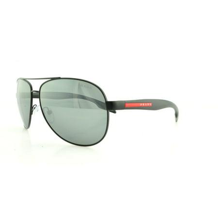 f5af5a41ba PRADA SPORT Sunglasses PS 53PS 1BO7W1 Black 62MM