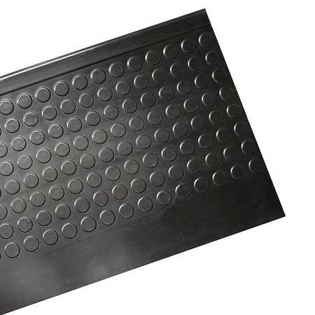 surefoot nose stair tread black rubber 6 ft w