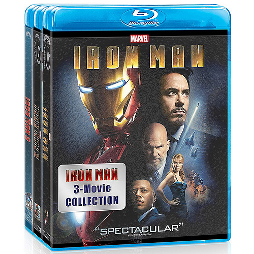 Iron Man / Iron Man 2 / Iron Man 3 (Blu-ray) (Widescreen)