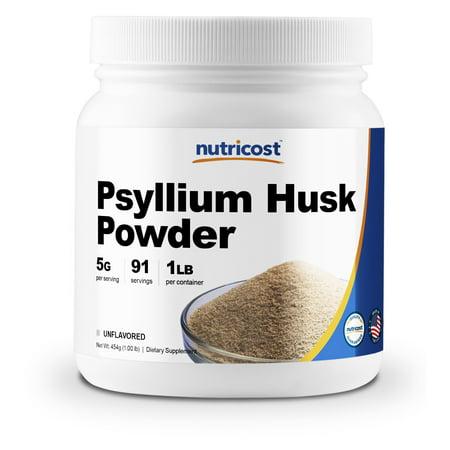 Nutricost Psyllium Husk Powder 1lb 5g Per Serving Walmartcom