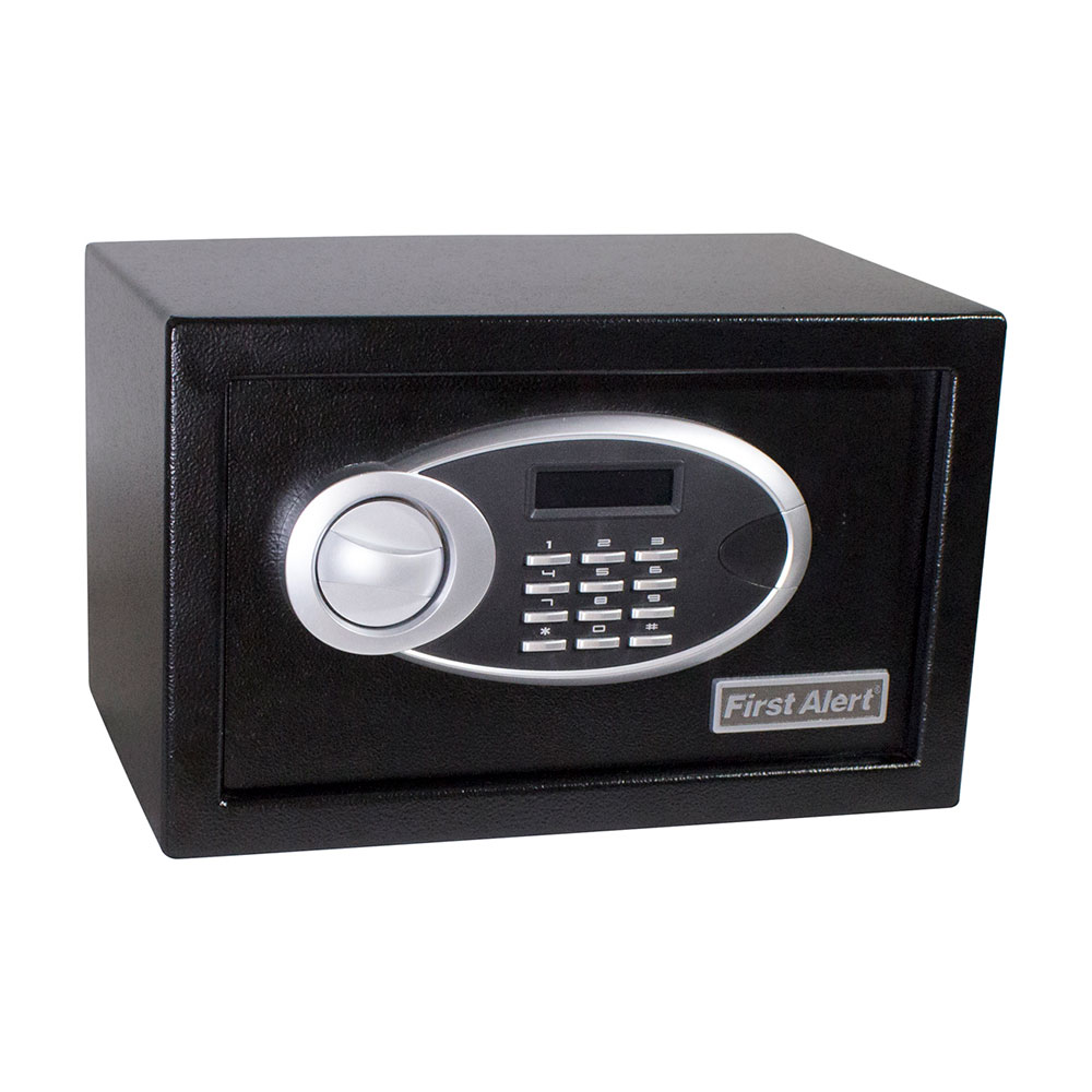 First Alert 0.31 Cubic Foot Steel Digital Anti-Theft Safe