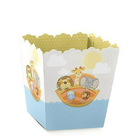 Noah's Ark - Party Mini Favor Boxes - Baby Shower or Birthday Party Treat Candy Boxes - Set of 12 - Noahs Ark Baby Shower