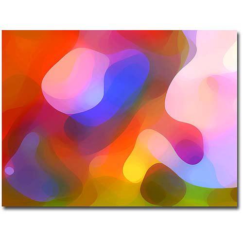 """Trademark Fine Art """"Dappled Summer Light"""" Canvas Wall Art by Amy Vangsvard"""